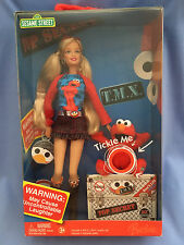 Mattel Barbie Doll and Elmo: TMX Tickle Me Elmo from Sesame Street