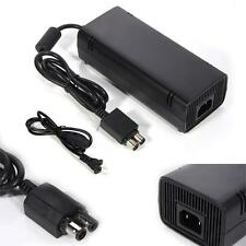 Slim Power Supply Brick AC Charger Adapter Cable Cord for Microsoft Xbox 360