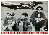 "Reproduction ""Beastie Boys - Licensed To Ill"", Poster, Home Wall Art"