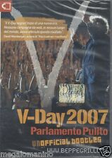 Dvd **BEPPE GRILLO ~ V-DAY 2007 ~ PARLAMENTO PULITO** nuovo Region Free