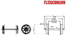 Fleischmann 6563 H0 Doppelspeichen-Radsatz AC ++ NEU ++
