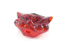 CAT HEAD CAT FACE RED REAR TAIL LIGHT TAIL LAMP BSA NORTON