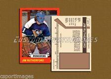 Jim Rutherford - Pittsburgh Penguins - Custom Hockey Card  - 1972-73