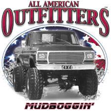 Ford F150 F250 4X4 Mud Boggin' Truck T-shirt 100% Cotton Small to XXXXXL