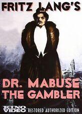 Dr. Mabuse: The Gambler (DVD, 2006) New Sealed