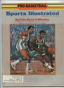 Sports Illustrated Oscar Robertson Milwaukee Pete Maravich Pro Debut 1970