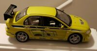 AS-IS Ertl Joyride Fast & Furious 2002 Mitsubishi Lancer Evolution VII Car 1:18