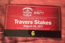 2017 Saratoga Travers Paddock Pass For Girvin