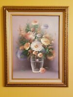 ORIGINAL OIL ON CANVAS SIGNED, FRAMED, AND MATTED RUSSO