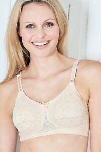 Nicola Jane Diane Mastectomy Bra (7009) White, Black & Nude