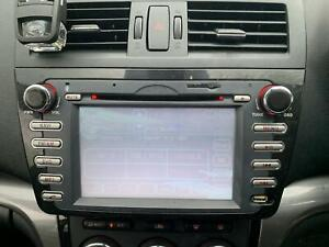 2009 2010 2011 2012 MAZDA 6 STEREO UNIT AFTERMARKET RADIO, GH