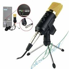 Professional USB Audio Condenser Microphone PC Studio Recording w/ Mic Stand【US】