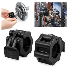 2PCS 25mm Weight Lifting Bar Collars Home Gym Standard Barbell Lock Clamp Collar