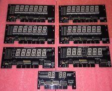 LED Display Kit for Gottlieb System Pinball Machine, GREEN LED's, DEVIL'S DARE