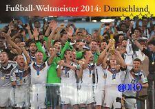 Fußball Weltmeisterschaft + Weltmeister Postkarten Serie + 2014 + DEUTSCHLAND +
