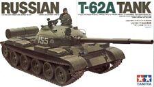 Tanque de Tamiya 1/35 ruso T-62A # 35108