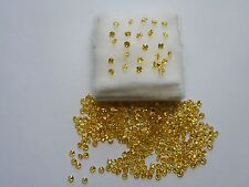 2.5mm yellow cubic zirconia round 10 for £1.20.