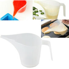 Tip Mouth Plastic Measuring Jug Cup Graduated Surface Cooking Kitchen Bakery KY