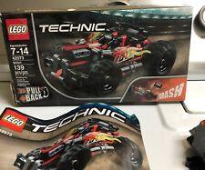 LEGO Technic 42073 Bash ~139pcs ~ Building Toy Set  Pull Back-Used!