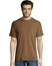 Hanes Mens X-Temp FreshIQ Workwear Pocket Tee Value 2-Pack