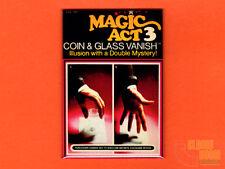 "Magic Act 3 Coin & Glass Vanish box art 2x3"" fridge/locker magnet Reiss"