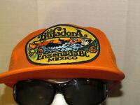 SURF VINTAGE -La Bufadora- SNAPBACK HAT BIG PATCH /BAJA SURFER CAP TRUCKER SPORT