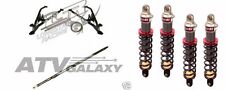 LONESTAR RACING +3 LONG TRAVEL A-ARMS + AXLE  ELKA SHOCKS SUSPENSION KIT RZR170