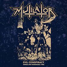 Mutilator – Evil Conspiracy - Demos and Rehearsals '86 LP Vinyl +CD New (2016)