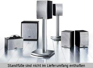 Teufel Theater 1 Heimkino Lautsprecher Boxen Speakers Set 5.1 Surround THX black
