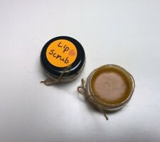 1x Handmade Lip Orange Sugar Scrubs Lip Exfoliator 8g