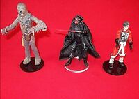STAR WARS,SET*3 ACTION FIGURE STANDS FOR NEW AND VINTAGE STAR WARS LOOSE FIGURES