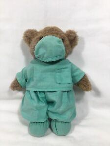 "Heartfelt Treasures Dr Scrubs Bear 10"" By Jerry Elsner Stuffed Plush"
