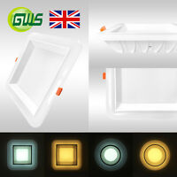 LED Ceiling Panel Light Super Bright Round & Square Downlight Backlit Technology