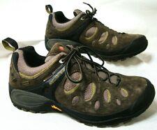 MERRELL Chameleon Mens 8.5 Evo Gore Tex XCR Dark Brown Earth Hiking Trail Shoes