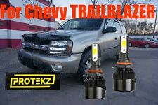 LED TRAILBLAZER 2002-2009 Headlight Kit 9006 HB4 6000K White CREE Bulbs Low Beam