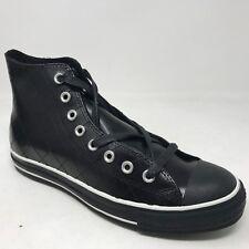 New Vintage Men Converse All Star Leather Quilt HI 1P990 Size 7