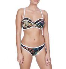 021947bfff Freya Club Tropicana Strapless Bandeau Bikini Top Midnight 3984 * Swimwear  34 F