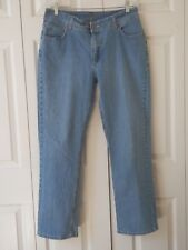 Riders By Lee Light Wash Denim Straight Leg Jeans Womens Size 16M