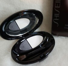SHISEIDO THE MAKEUP SILKY EYE SHADOW DUO ICY COAL S16 NEW IN BOX !!!
