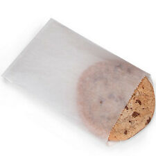 50 Translucent Glassine Bags Flat baked goods Favors Cookies 4.5