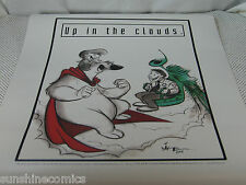 Herobear and the Kid Up In The Clouds Poster Mike Kunkel NEW