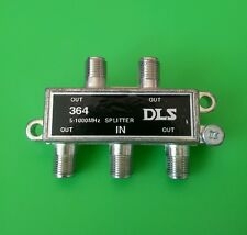 (1 PC) 4-Way 5-1000MHz Cable TV Off-Air Antenna Splitter
