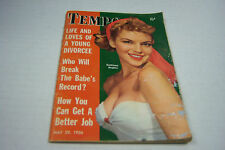 Tempo cheesecake magazine May 1956 Kathleen Hughes   072812EL