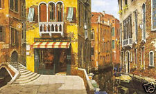 Viktor Shvaiko Sunny Day in Venice on Canvas