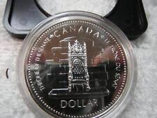 1977 Canada Silver Dollar Choice BU Prooflike ORIGINAL