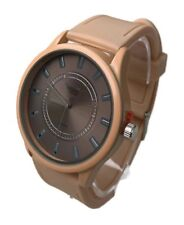Men's Casual Watch Milano MC43905 Beige Silicone Band Beige Dial