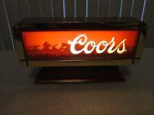 Coors Beer Sign Cash Register Light display 1988 Rare