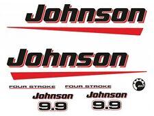 Adesivi motore marino fuoribordo Johnson 9,9 hp 2t brp 4 tempi