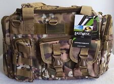 A-10 Tactical Range Duffel Bag Multicam Water Resistant Heavy Duty Many Pockets