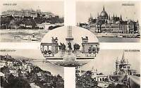 B35890 Budapest multi views    hungary